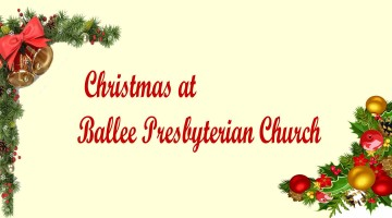 Christmas and New Year Services | Ballee Presbyterian Church