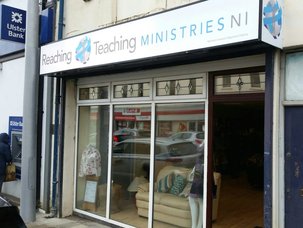 Reaching Amp Teaching Ministries New Charity Shop The