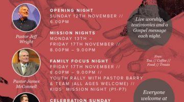 Gospel Mission at Green Pastures Church