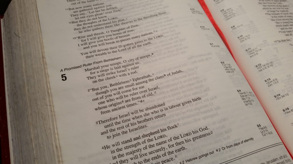 Verse Of The Week   4th December 2017