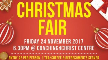 Coaching4Christ Christmas Fair