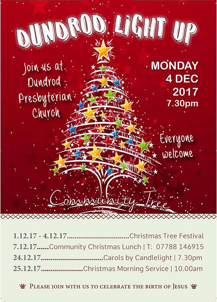 Christmas Tree Festival at Dundrod Presbyterian Church