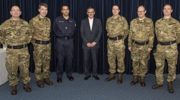 PCI Moderator Met A Number Of The Forces Chaplains