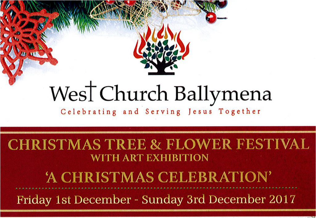 West Church Ballymena Christmas Tree and Flower Festival