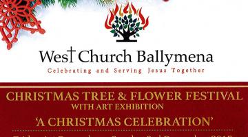 West Church Ballymena Christmas Tree and Flower Festival