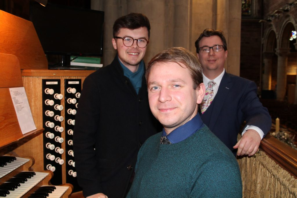 Dr Ed Jones New Assistant Organist at Belfast Cathedral