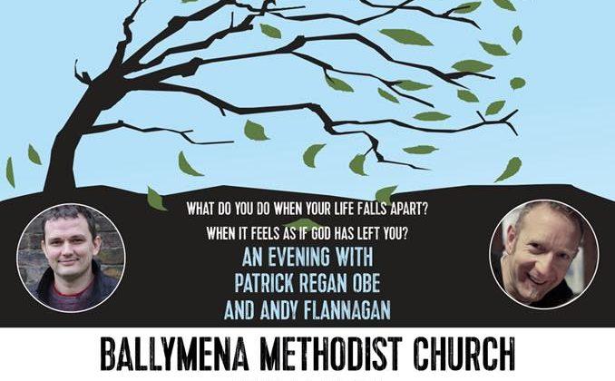 Author Patrick Regan Will Visit Ballymena Methodist Church