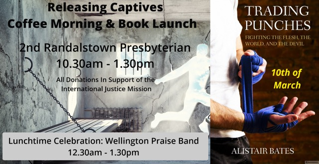 Releasing Captives Coffee Morning and Book Launch