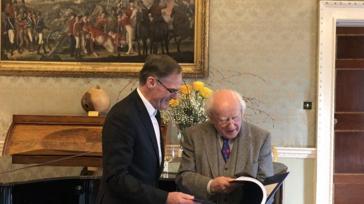 Presbyterian Moderator Visits President Michael D Higgins