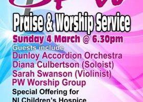 PW Praise and Worship Service – St James's Ballymoney