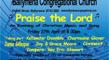 Praise The Lord – an Evening of Christian Music at Ballymena Congregational